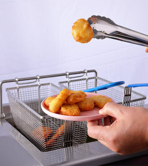 Commercial Induction Deep Fryer