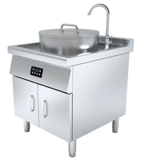 New Commercial Induction Soup Boiler With Timer Systems