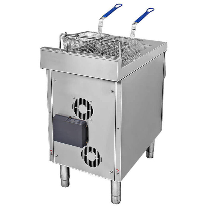 induction commercial deep fryer