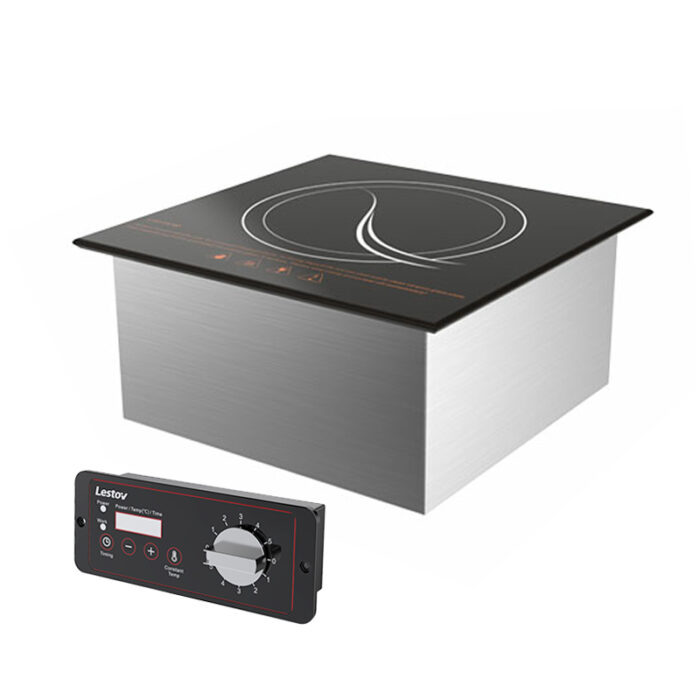 380v Commercial Built-in Induction Hot Plate with Timer