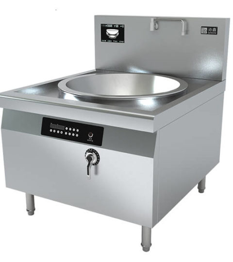 Chinese Wok Stations Heavy Duty Commercial Induction Cooking
