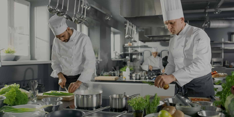 Commercial Induction Kitchen