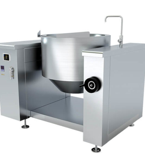 Professional Catering Tilting Commercial Soup Kettle Cooker
