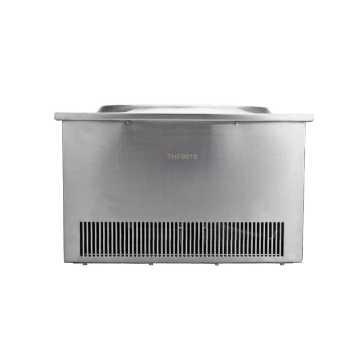 Cooling fan and air vent of embedded induction cooker