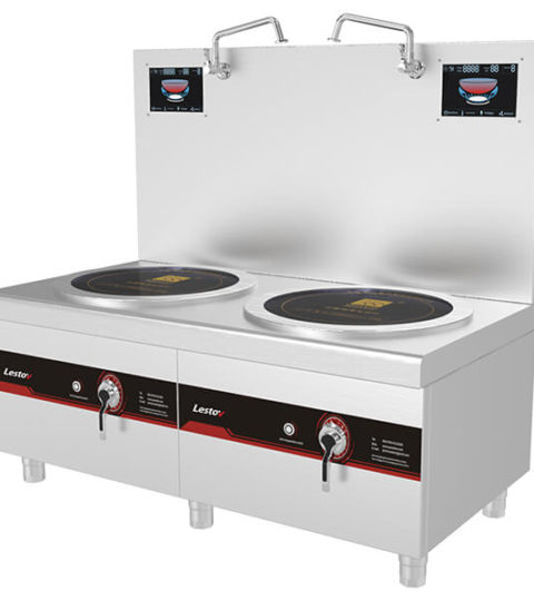Soup Station Double Burner Commercial Stock Pot Range