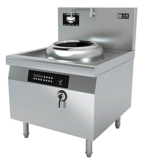 Chinese Wok Range Induction Stove For Commercial Kitchen