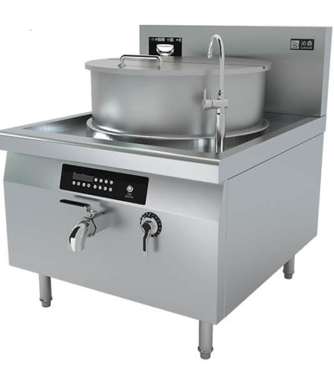 Industrial Soup Cooker Restaurant Soup Boiler Induction Equipment
