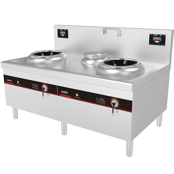 Commercial Induction Wok Stove Catering Equipment
