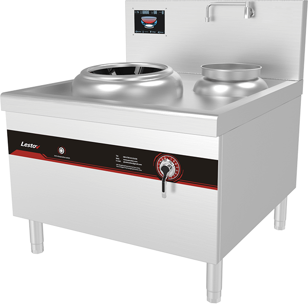 Commercial Induction Wok Stove Kitchen Eqipment