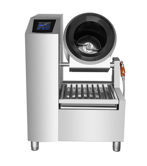 Commercial Intelligent Non-stick Drum Rolling Cooking Robot Machine
