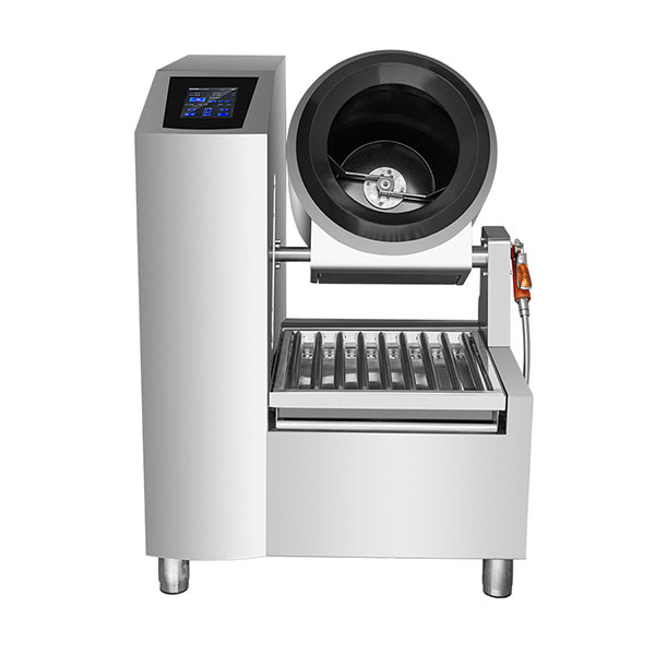 large-scale cooking machine fried rice machine electromagnetic drum cooking pot