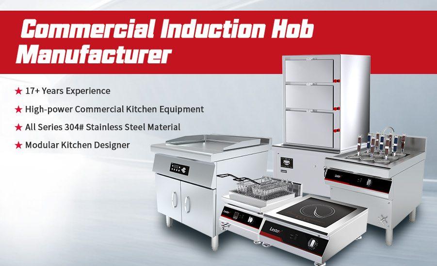 Commercial Induction Hob Manufacturer