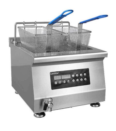Commercial-tabletop-fryer-cooker-