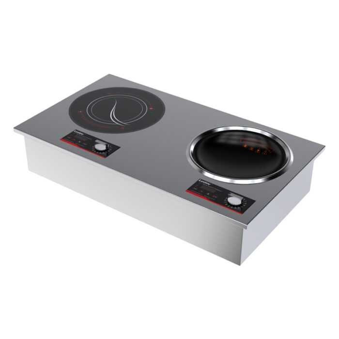 Double Drop-in Induction Cooker for Commercial Restaurant