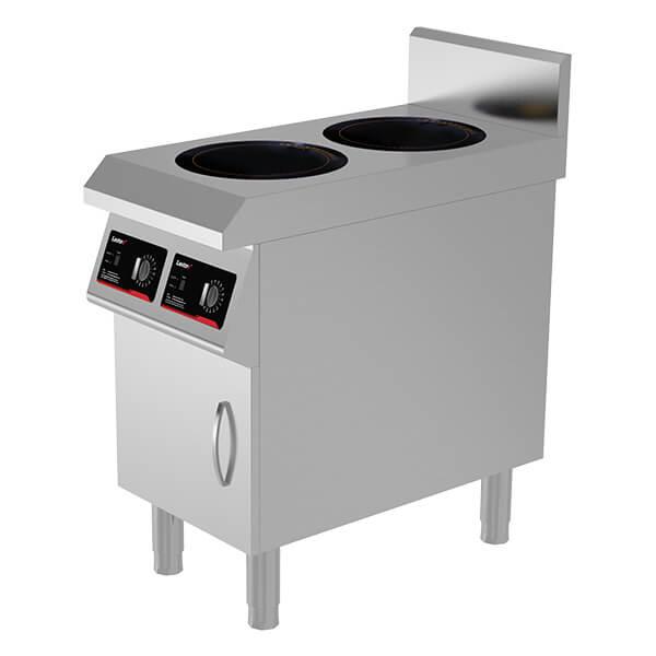 2 burner induction cooktop