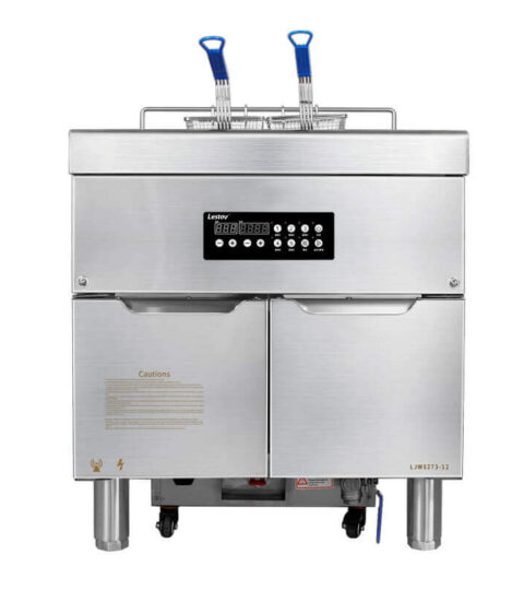 French Fries Commercial Fryer With Built In Filtration Systems