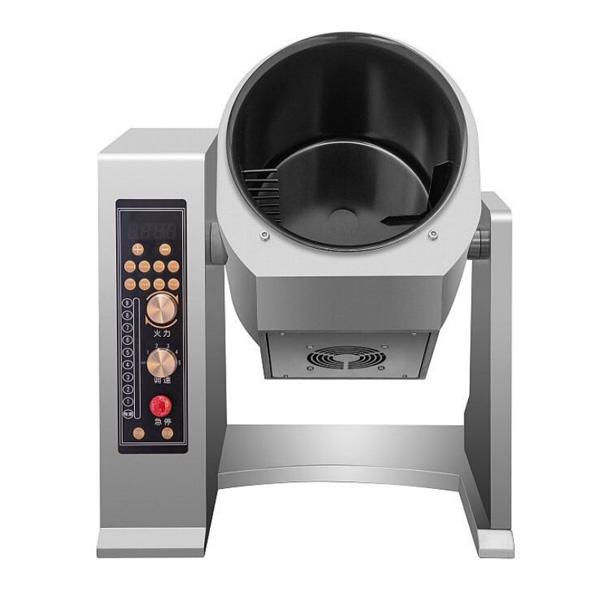 automatic stir fryer cooking machine