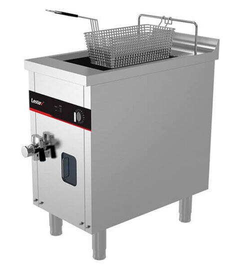 Single Tanks Single Basket Deep Fryer Induction Cooking Equipment