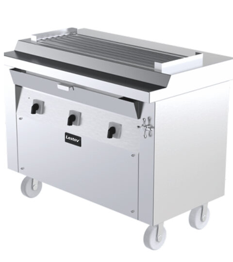 Commercial Induction Flat Top Grill For BBQ