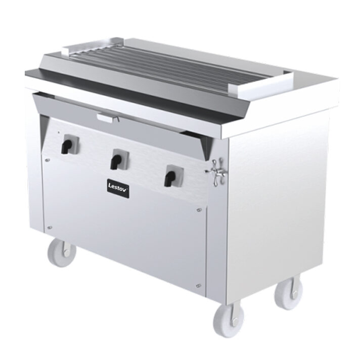 Commercial Induction Tabletop Grill For Barbecue